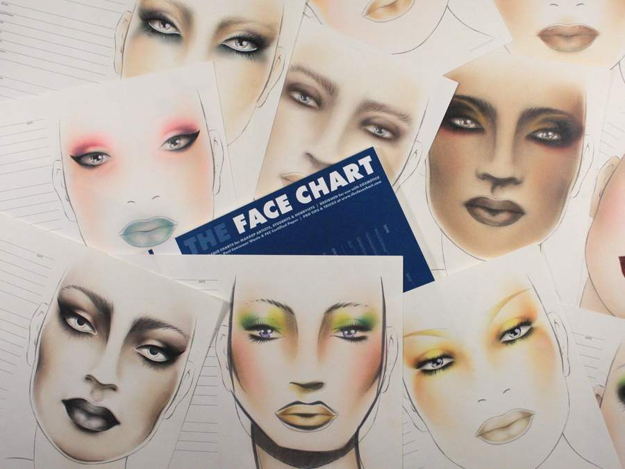 The Face Chart The Face Chart